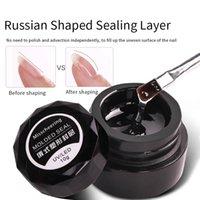 10g No-Wipe-Top-Mantel 10ml Russisches Bewehrungsgel für Klebstoff Nail Art Strass-UV-Gele Professionelle Nägel-Werkzeuge