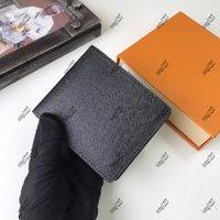 Sacos de designers de luxurys 60 carteiras 895 interlayer prático e slot de cartão podem ser facilmente armazenados
