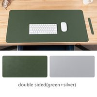 Multifunctional Computer Laptop Desk Mats 80*40cm 31.5*15.7inch Dual Sided Home Office Oversized Keyboard Mouse Pad Waterproof PVC Leather Game Gamer Mousepad HY0005