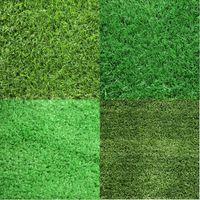 Creative Jardin Jardin Décoration de plancher 100cm * 100cm Tapis de pelouse artificielle faux Turf Accueil Mousse Grossale