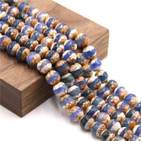 """Outros 15,5 """"Faceted Dzi Agat Beads Perfurado Natural Tibetano Atacado 6 mm 8 10 Loose para DIY Fazendo Jóias Acessório"""