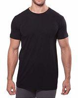 T-shirt da uomo casual slim fit manica corta Henley t-shirt bottone tondo camicie da collo rotondo tee dimensioni asiatiche