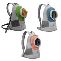 Pet Backpack Cat Carrier Portable Puppy Travel Dog Front Breathable Mesh Adjustable Outdoor Car Seat Covers