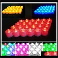 발렌타인 데이 가족 촛불 램프 결혼식 축하 생일 Led 전자 촛불 7 색 0 3rp j2 yfcyf sn7yc