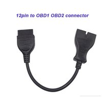 Diagnostic Tools GM 12 Pin 12pin OBD To OBD2 16pin 16 Connector Cable Adapter