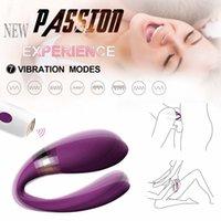 Aphrodisie imperméable g Spot avec des modes de vibration Dual Motor 9, Clitoris Anal Vibrateur Jouets sexuels pour adultes pour couple Y0320