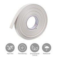 Wall Stickers Creative Edges Sticker Simple Style Home Decor TV Background - White (Length 5 Meters, Width 3cm)