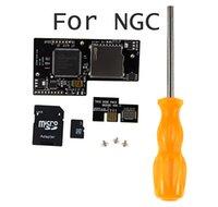 GC Yükleyici Lite Optik Sürücü Kartı Seti SD2SP2 TF Okuyucu MicroSD Kart Adaptörü Tornavida Seti NGC GameCube Yükleyici için Seti