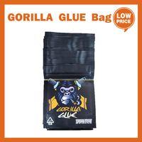 Gorilla colla 3.5G Dry Herb Flower Mylar Packaging Bag Back Stand Sacchetto Odore Proof A Proiatura Zipper Zipper Serratura Ricaricabile PK Biscotti PZ Backwoods