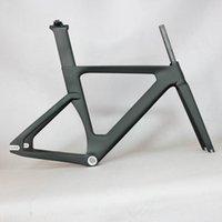 جديد OEM جديد كامل الكربون المسار الإطار إطارات الطريق ثابت والعتاد دراجة إطارات مع شوكة مقعد آخر دراجة الكربون الإطار TR013
