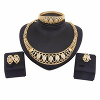 Серьги Ожерелье Liffly Bridal Ювелирные Изделия Африканский Кольцо Браслет Нигерия Для Женщин Кристалл Подарок