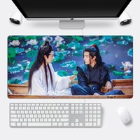 Mouse Pads & Wrist Rests Custom Pad The Untamed Large Gaming Mousepad Xiao Zhan Wang Yibo Locking Edge 60x30cm Cool XL Laptop Computer Desk