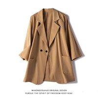 Men's Suits & Blazers Summer Thin Short-sleeved Blazer Fashion Business Society Mens Suit Jacket Korean Loose Casual Dress Men S-3XL