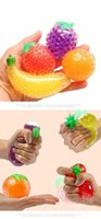 Decompression Fruit Jelly Water Squishy Cool Stuff Funny Things toys Fidget Anti Stress Reliever Fun for Adult Kids Novelty Gifts