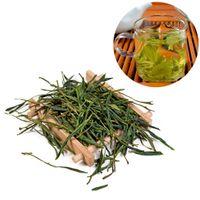Feuilles de thé vert en feuilles en feuilles en vrac de Bai Cha Cha