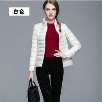 Women's Jackets Lady White Red Khaki Color Winter Autumn Long Sleeve Basic Outerwear Women Pink Purple Thin Coat Female Coats