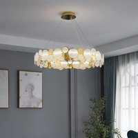 Nordic Living Room Led Chandeliers Lighting Modern Dining Room Chandelier Creative Net Red Bedroom Hanging Lamp stair chandeliers