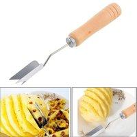 Edelstahl Ananas Schneider Slicer Cut Ananas Eye Seed Remover Hohe Qualität Küchenwerkzeuge Gadget Zubehör FWB6730