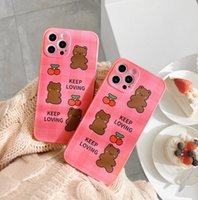 Girl Cute Cartoon Pattern Cell Phone Cases iphone 11MAX 6S 8 Apple 7plus XR cushion pressure soft shell For iphone12 pro max