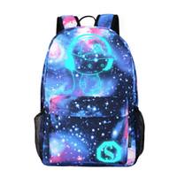 2021 Nouveaux sacs de l'école lumineuse Diomo Cool Cool pour garçons et filles Sac à dos avec USB Charging Anime Sac à dos pour les filles adolescentes anti-ème