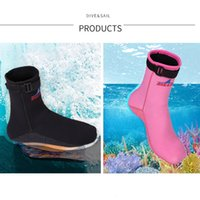 Wholesale- Boots Neoprene Water Shoes Beach Booties Snorkeling Diving Surfing Boots