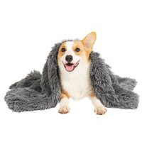 Fluffy Soft Dog Plush Blanket King Size Cat Warm Pet Calming Bed Mat Blankets For Big Dogs Pets Stuff Kennel Beds Accessories Kennels & Pens