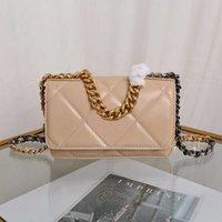 2021 مصمم مصمم الفم الكبرى حقائب فاخرة حقيبة المرأة سلسلة سعة صغيرة حزام الكتف الجملة التجزئة 5 ألوان CCCC المرأة حقيبة يد جلدية