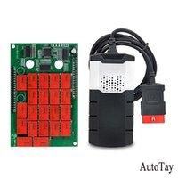 Codice lettori Strumenti di scansione 1pc Scanner per auto Camion Single Board Software OBDII Strumento diagnostico Interfaccia USB Bluetooth