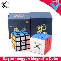 Dayan Tengyun V2M Cube magnético 2x2 3x3 Dayan Guhong V3 M 3x3x3 Magic Speed Puzzle Etignas sin adición Juguetes educativos para niños Regalos