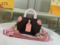تصميم حقيبة يد فاخرة مصمم المنصة صغيرتي جزر ملاك المرأة الأزياء التطريز الجلود عالية الجودة وقابلة للإزالة واسعة الكتف حزام ميدان ميني