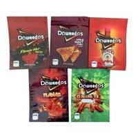 Doweedos çanta ambalaj yeniden kapatılabilir kitaplar boş 600mg flamin nacho baharatlı mylar paketi