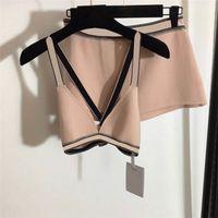 Système de bain de maillot de bain de sous-vêtements pour femmes SUPPORTS Textile Lettre imprimée Mesdames Soutien-gorge Ensemble maillot de bain maillot