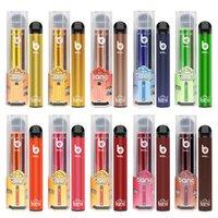 Bang XXL XXTRA 2000 Puffs Zigarette Einweg-Vape-Stift-Bestand in den USA-Puff-Bars Großhandel 800mAh-Batterie 6ml Pod-Patronen vorgefüllte Dampf-tragbare Verdampfer-Kits