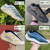 La migliore qualità Srphym 700 v3 Glow in the scarpe da uomo scure pattini correnti delle donne Azareth alvah Azael riflettente scarpe da ginnastica scheletro