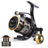 2021 HE500-7000 Drag 10kg Metal EVA Ball Grip Spool Spinning Reel Saltwater For Carp Fishing Pesca
