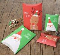 Nova Caixa de Presente de Natal Christma Pacote Moose Padrão Caixas de Descanso Caixas Coréia Criativa Capa Doces Desenhos Animados Desenhos Animados Desenhos Animados Embalagem EWB7094