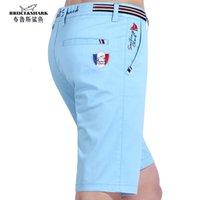 Pantalones cortos bruce tiburón verano aleatorio masculino compra militar carga rodilla altura estiramiento cato hombres corto