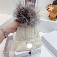 Alta Qualidade Design Moda Inverno Caps Bonés Para Mulheres e Homens Gorros Quentes Casuais Cap Snapback Pompon Beanie 6 Cor