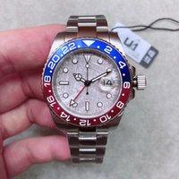 Nuevo 2021 Modelo Mens de pulsera Muñeciones ST9 Acero inoxidable Azul Red Pepsi Reloj Automático GMT Movimiento Reloj Limitado Orologio di Lusso Maestro Regalo Master