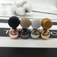 Forte magnetica XT174 Placcatura in metallo Cassaforte Hijab Brooch Clip Accessorio di lusso No Foro Pins Brooches Magnete per sciarpa musulmana