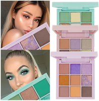 GLAZZI Brand 9 Colors Eyeshadow Palette: Pastel Obsessions Eyeshadow Palette - Mint & Lilac, Rich Colors with Velvety Texture, Neutral Shades and Ultra-Blendable