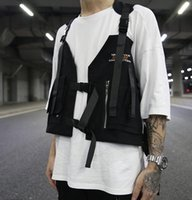 Backpack 2021 Hip-hop Kanye West Street Ins Style Chest Rig Military Tactical Bag Functional Package Prechest Vest