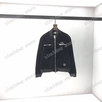 21ss mens designers Flight Jackets Jacquard Christian Graffiti Golden velvet clothes streetwear Coats Outerwear Hooded men Clothing Cotton black