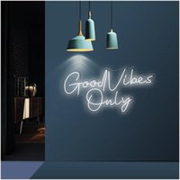 Other Event & Party Supplies Good Vibes Only Neon Light Custom Letters Decorative Room Decor Wedding Decoration Led Sign