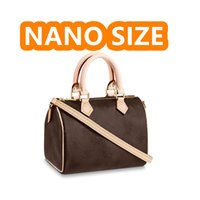 Nano Bolsa de Ombro Crossbody Cartão Titular Luxurys Designers bolsas bolsas carteiras bolsa de bolsa de cartão chave bolsa chaveiro carteira bolsa de moeda
