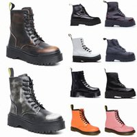 Dr doc martin martins marten martens 1460 2976 1461 Mode Classic Automne Homme Boot Chaussures d'hiver Chaussures d'hiver Cuir Hommes Femmes Bottes Chaussures 36-4407WL #