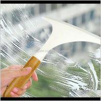 Aessories Bahçe Damla Teslimat est 2021 Ev Cam Silecek Duş Banyo Aynası Kazıyıcı Pencere Ev Pratik Temizleyici Banyo Aessory Set