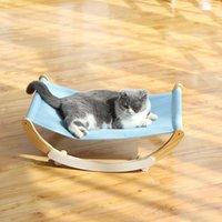 القط أسرة الأثاث Shuangmao الحيوانات الأليفة هزاز المتسكع السرير الأرجاج الخشب للقطط جرو حصيرة شنقا القطط سلة صغيرة الكلب أريكة المنتجات