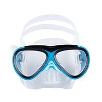 HXLSPORTALL Сухой подводное плавание детей Профессиональное оборудование Силиконовое погружение для маски набор плавательных дыхательных труб Детские