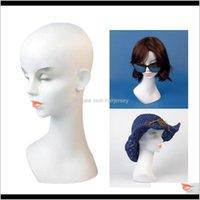 Heads Care Styling Tools Products Drop Entrega 2021 Roby Female Wigs Sombreros Pendientes Pendientes Pendientes Pantalla Pantalón Pelo Maniquí Q2LSQ